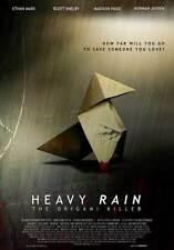 HEAVY RAIN: THE ORIGAMI KILLER Movie MINI Promo POSTER