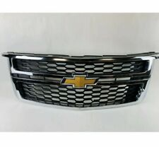 GM Chrome and Black Mesh Grille 2015-2020 Chevrolet Tahoe Suburban 84505387 OEM