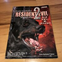 VGC Totally Unauthorized Resident Evil 2 Survival Guide Strategy BradyGames