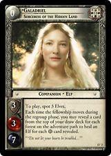 LOTR TCG Galadriel Sorceress of the Hidden Land 13O2 Bloodlines NEAR MINT FOIL