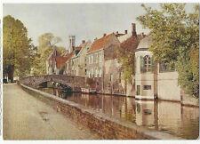 Belgium - Brugge/Bruges, Groene Rei - 1960's Postcard