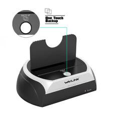 "Wavlink 2.5/3.5"" SATA HDD/SSD USB2.0 External Hard Disk Drive Enclosure All in 1"