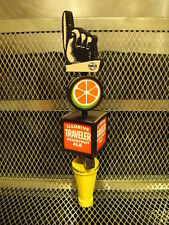 The TRAVELER BEER Co ~ Figural Finger Seasonal Shandy W Inserts Beer Tap Handle