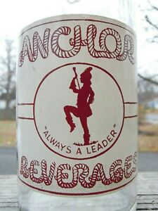 Anchor Beverages - Peabody, Ma. - ACL Soda Bottle