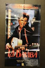 "LA BAMBA 1987 FILM POSTER 20"" X 35"" LOU DIAMOND PHILLIPS"