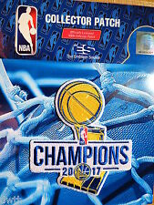 Official Golden State Warriors 2017 NBA Championship Iron or Sew On Patch