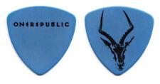 OneRepublic Brent Kutzle Antelope Blue Bass Guitar Pick #2 - 2013 Tour