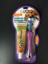 EZ Dog Pet Toothbrush & Toothpaste for Small Breeds