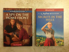 American Girl Mystery Books Josefina-Secrets in the Hills and Molly-A Spy on the