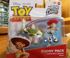 Toy Story buddy pack spanish buzz lightyear and Jessie