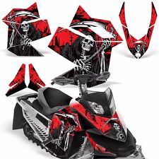 Decal Graphic Kit Ski Doo Rev XP Skidoo Sled Snowmobile Wrap Decal 08-12 REAP R