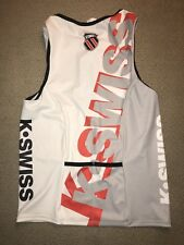Men's K-Swiss Tri Triathlon Singlet Jersey Small S