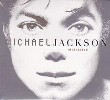 CD ♫ Compact disc «MICHAEL JACKSON ♪ INVINCIBLE» nuovo sigillato digipack