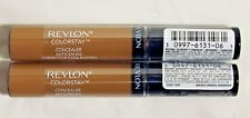 Lot of 2 Revlon ColorStay Concealer Corrector #6 Deep NEW Free Shipping