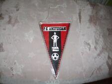 "FC Amsterdam Original 70iger Jahre Wimpel ""F.C. AMSTERDAM"" Neu"