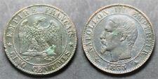 Napoléon III, 5 centimes 1855 BB, TB à TTB