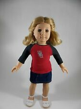 USC Gamecocks Tee T-Shirt for American Girl & other 18-inch Dolls #1