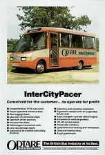 Bus Manufacturer Specification Sheet ~ Optare InterCity Pacer: VW LT55 Demo 1988