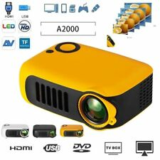 1080P Hd Mini Portable Home Theater Projector Multimedia Movie Video Projectors