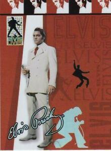 "2006 PRESS PASS ""ELVIS PRESLEY"" LIVES FOIL INSERT CARD TRADING CARD V/Good Cond"