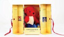 English 1953 Coronation Replica Bear Merrythought 1993 Mohair L/Edt New Mib Nrfb