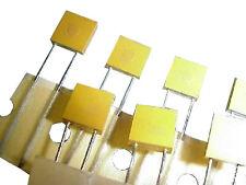 AVX, 1uF, 10%, 50V, radial mount, molded ceramic capacitors, lot/25