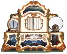 """Wurlitzer Style 125 Band Organ Music Roll. Roll No. 3545 """"Abba / Mamma Mia Tune"""