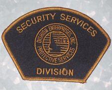 Dishion Enterprises Security Services Patch