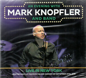 MARK KNOPFLER - LIVE IN NEW YORK 2019 + BONUS - 2CD DIGIPAK SOUNDBOARD - SEALED