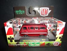 M2 Ford Falcon Club Wagon 1965 Metal Red 32500 WC12 1/64