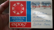 CANADA POSTCARD - MONTREAL EXPOSITION 1967