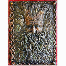 TREE BEARD GREEN MAN JOURNAL Notebook Diary SPELLBOOK GOTHIC PAGAN Wiccan CELTIC