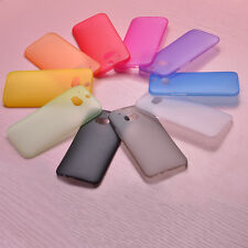 2x  Ultra Thin Slim 0.3MM Matte Hard Back Case Cover Skin For HTC ONE M8 M7