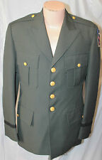US ARMY GREEN DRESS UNIFORM JACKET & PANTS 10TH MOUNTAIN DIVISION PATCH