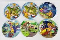 McDonalds 2003-2004 Plastic Collector Plates (Lot of 6)