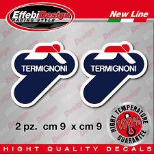 adesivi Stickers TERMIGNONI 200° exaust scarico Ducati Honda Suzuki H.QUALITY