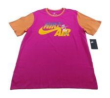 NIKE Air Ringer 90's T-Shirt sz XL Extra Large Pink Orange