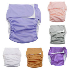 LN_ EG_ Reusable Adult Cloth Diaper Nappy Pants for Incontinence Bedwetting Se