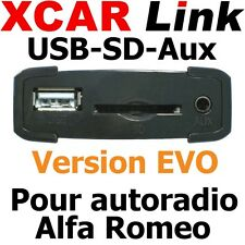 XCARLink USB-SD EVO ALFA 147, 156, 159, GT, MiTo, Brera, Spider...