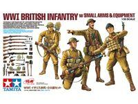 Tamiya 32409 WWII British Infantry 1/35 Scale Plastic Model Figures