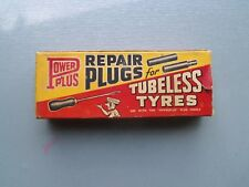 POWERPLUS REPAIR PLUGS CARDBOARD PACKET WITH FULL CONTENTS GOOD COLOUR!!!