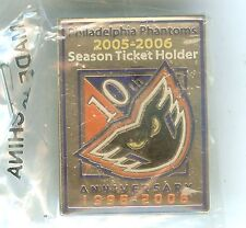 Lot of 5 2005-2006 Philadelphia Phantoms Hockey AHL Pin for Season Ticket Holder