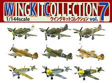 Wing Kit 7 SET9 F-Toys WW2 P-39Q P-40E Bf109 Fighter Aircraft Plane Model 1:144