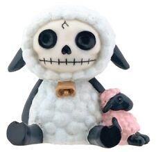 Furrybones Figurine - Wooolee The Lamb - New In Box Skeleton In Costume