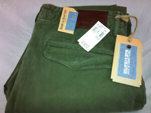 LEVI'S MADE & CRAFTED Drill Tapered Chino Flied Green( W 32) $ 198