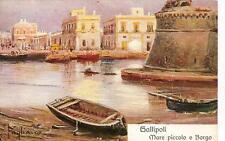 GALLIPOLI  -  Mare piccolo e Borgo