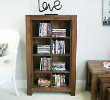 Linea solid walnut home furniture CD DVD storage cabinet cupboard rack
