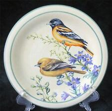 "LENOX - SUMMER GREETINGS - BALTIMORE ORIOLE - SALAD PLATE - 8.5"" Dia."