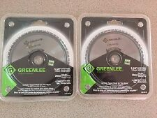 "Greenlee Panasonic Metal Cutting Saw Blade For Thin Steel LCS_M13D 5 3/8m""  2 pc"