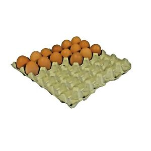 GREY CARDBOARD EGG TRAYS HOLDS 30 EGGS ***YOU SELECT QUANTITY***